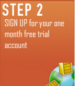 STEP 2 - Sign up for you 30 day free trial account